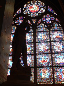 Window in Notre Dame